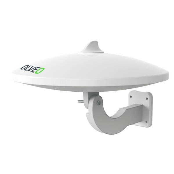 Vonkajšia anténa Evolveo Jade 1 LTE, 48dBi aktivní DVB-T/T2, LTE filtr (tdejade1)
