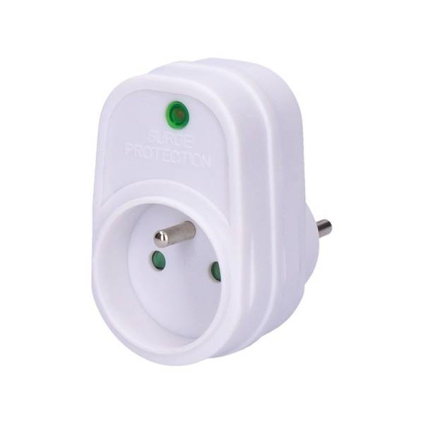 Přepěťová ochrana Solight PO20 1 zásuvka (PO20) bílá
