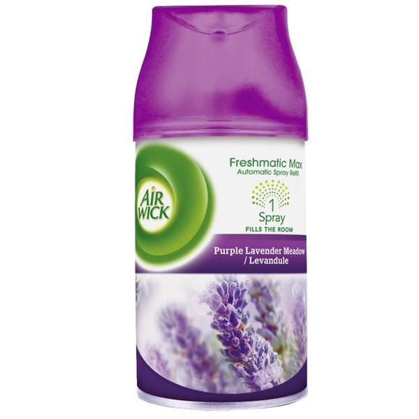 Osviežovač vzduchu Air Wick Freshmatic, náplň, vôňa levandule, 250 ml