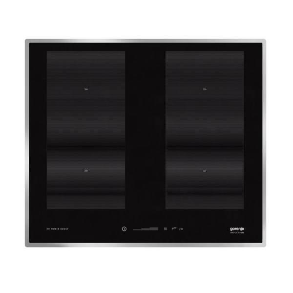 Indukční varná deska Gorenje Advanced IS656X černá/nerez (poškozený obal 8800322224)