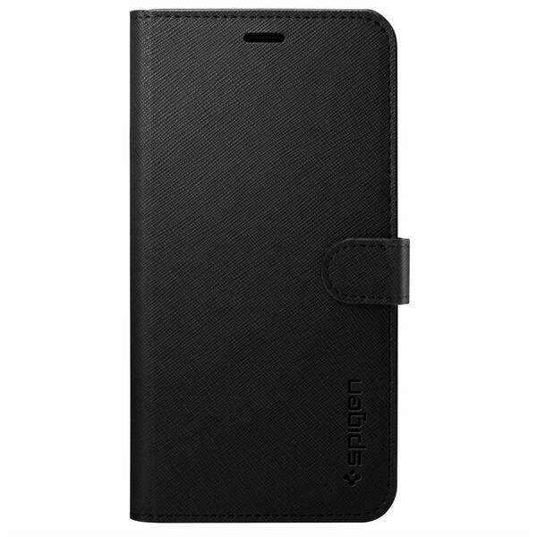 Pouzdro na mobil flipové Spigen Wallet S pro Apple iPhone 11 (076CS27197) černé
