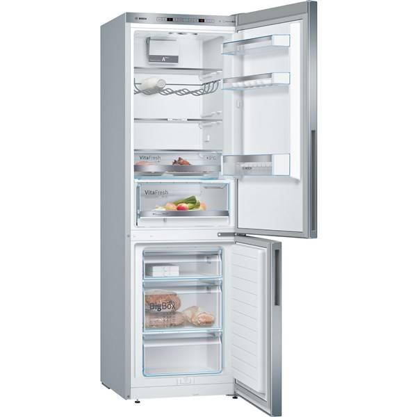 Chladnička s mrazničkou Bosch KGE36VL4A nerez