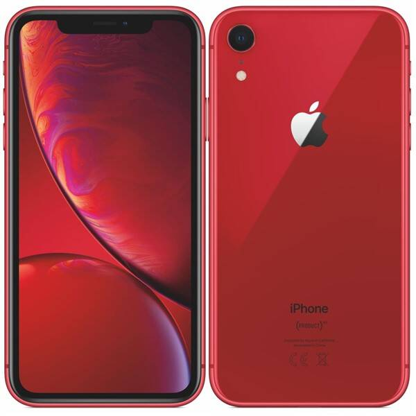 Mobilní telefon Apple iPhone XR 64 GB - (PRODUCT)RED (MRY62CN/A)