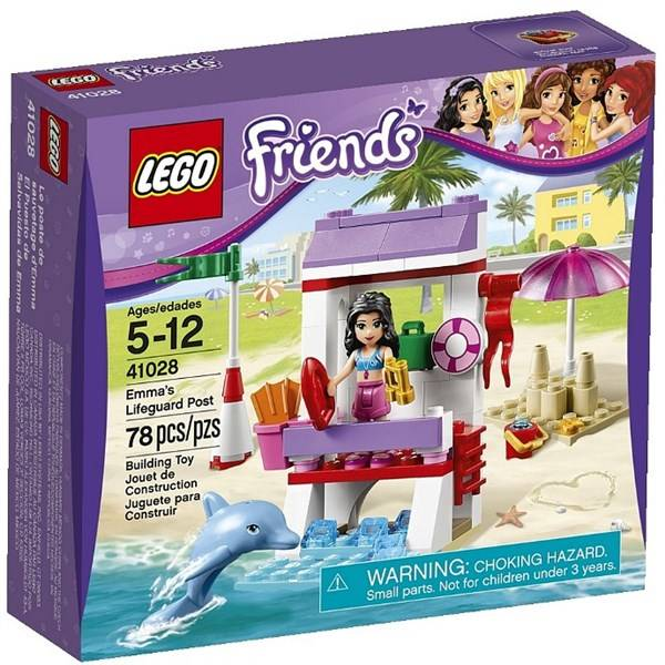 Stavebnice LEGO® Friends 41028 Ema a věž pobřežní hlídky
