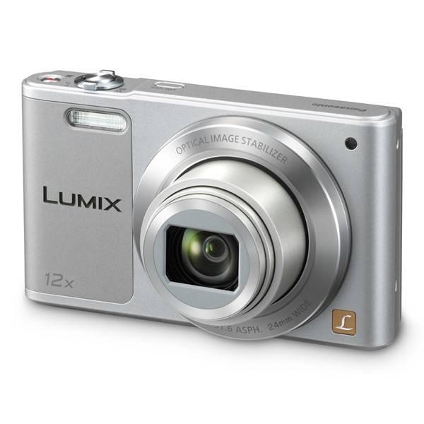 Digitální fotoaparát Panasonic Lumix DMC-SZ10EP-S stříbrný (vrácené zboží 8800151271)