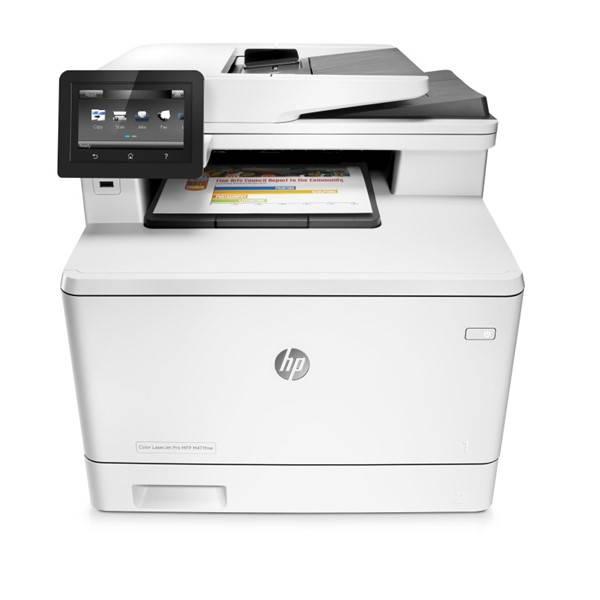 Tiskárna multifunkční HP LaserJet Pro MFP M477fdw (CF379A) bílá