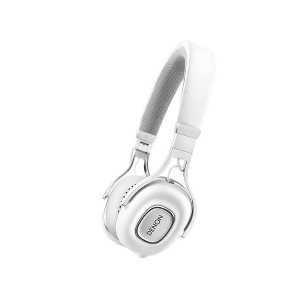 Sluchátka Denon Music Maniac AH-MM200 (AHMM200W   ) bílá (vrácené zboží 8800320277)