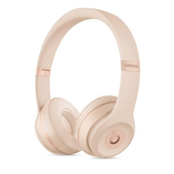 Slúchadlá Beats Solo3 Wireless - matně zlatá (mr3y2ee/a)