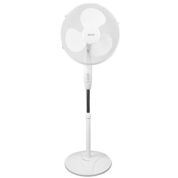 Ventilátor stojanový SOGO SS-21220 bílý (poškozený obal 3540101092)