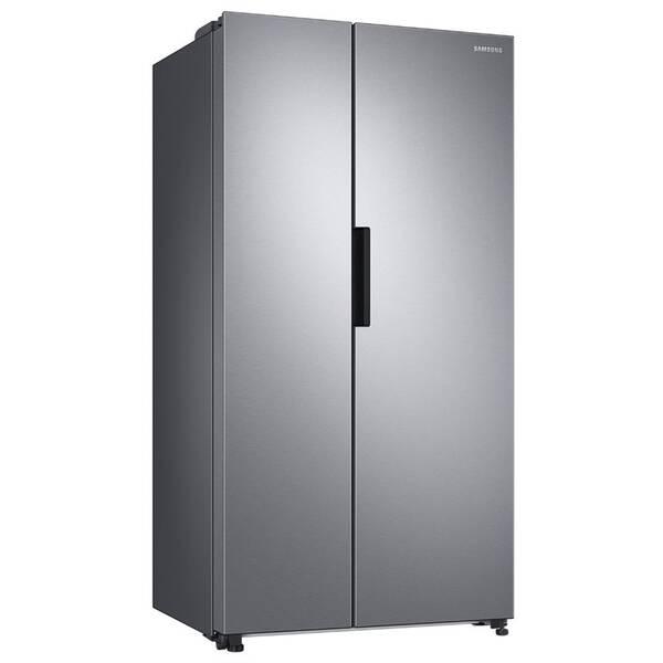 Americká chladnička Samsung RS66A8100SL/EF strieborná