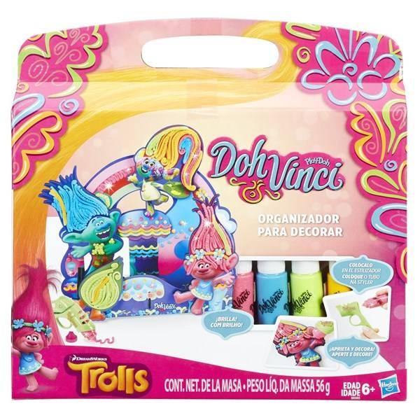 Play-Doh Hasbro DOHVINCI Trolls organizér na stůl