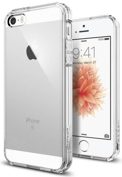 Kryt na mobil Spigen Ultra Hybrid Apple iPhone 5/5s/SE (041CS20171) průhledný