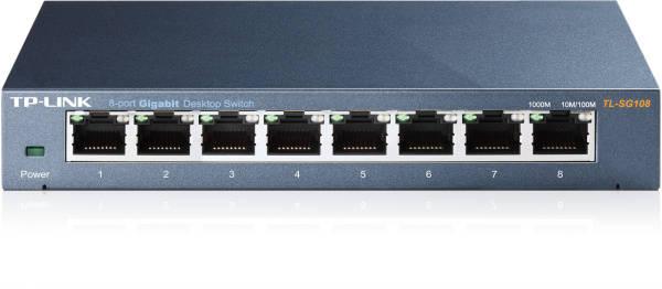 Switch TP-Link TL-SG108 (TL-SG108)