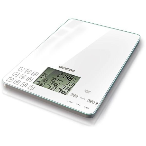 Kuchynská váha Sencor SKS 6000 biela