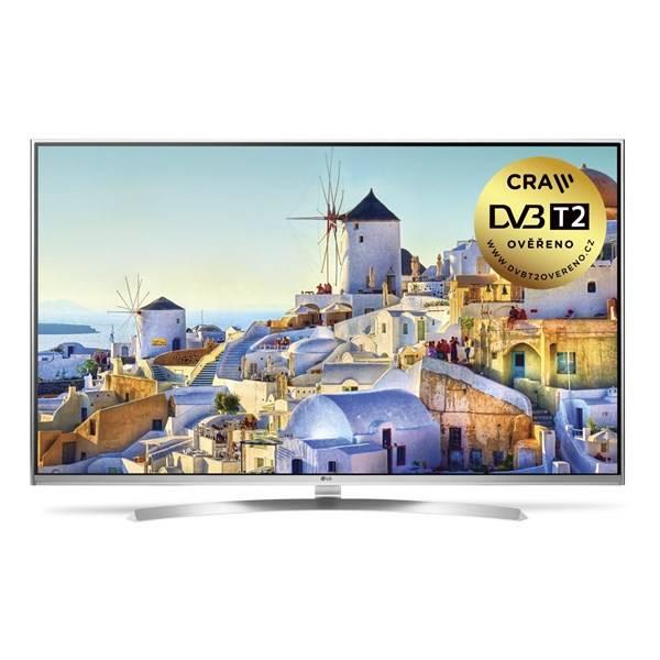 Televízor LG 65UH8507 strieborná