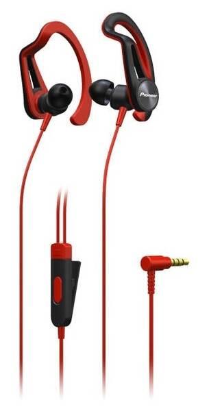 Slúchadlá Pioneer SE-E5T-R (SE-E5T-R) červená