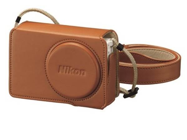 Púzdro na foto/video Nikon CS-CP4-7 kožené pro Coolpix P340 (VJD00027)