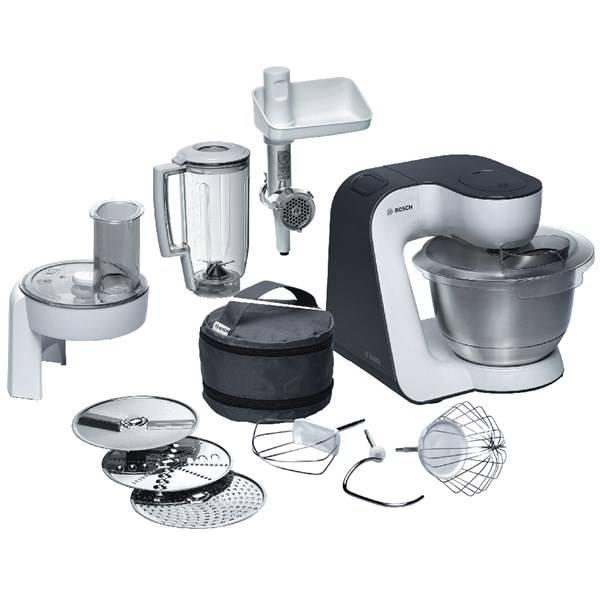 Kuchyňský robot Bosch MUM52131 šedý/bílý