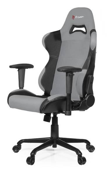 Herní židle Arozzi TORRETTA (TORRETTA-GY) černá/šedá