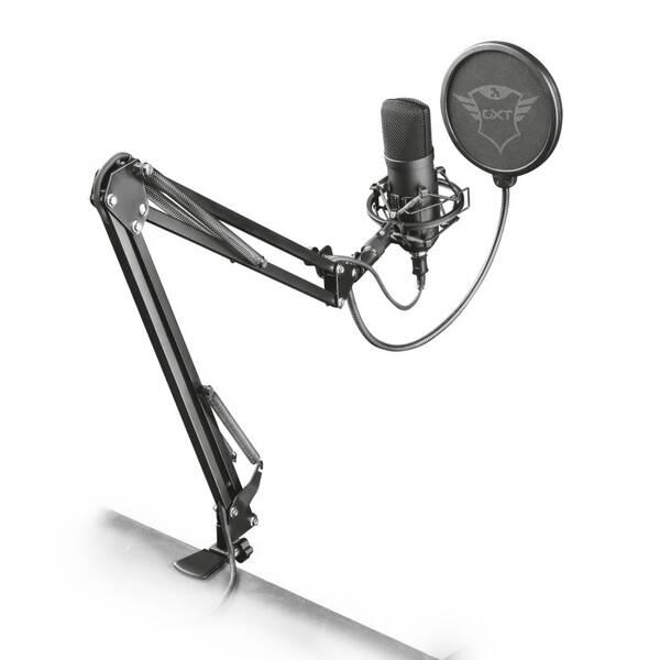 Mikrofon Trust GXT 252+ Emita Plus (22400) černý (vrácené zboží 8800633946)