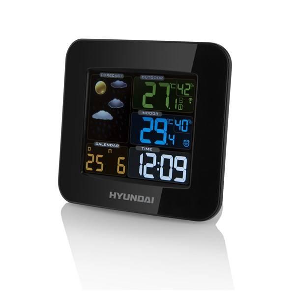 Meteorologická stanica Hyundai WS8446 čierna