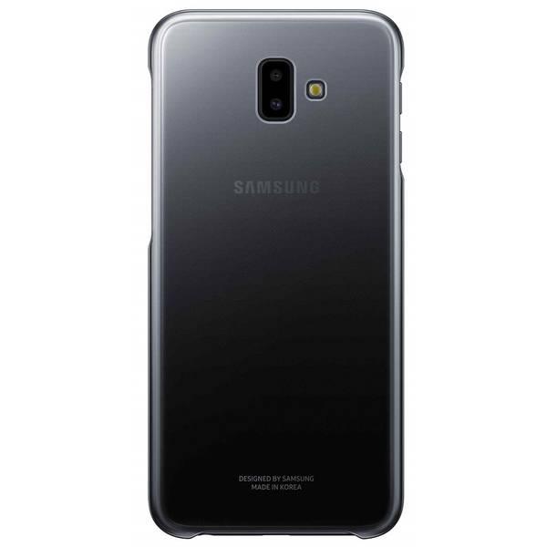 Kryt na mobil Samsung Gradation cover pro J6+ (EF-AJ610CBEGWW) černý