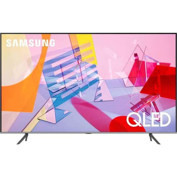 Televize Samsung QE55Q67TA stříbrná (vrácené zboží 8800735394)