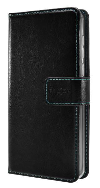 Pouzdro na mobil flipové FIXED Opus pro Samsung Galaxy J3 (2017) (FIXOP-166-BK) černé (vrácené zboží 8800314622)