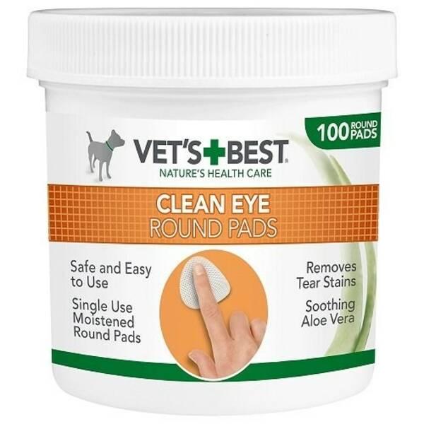Obrúsky Vet´s Best Čistící utěrka na oči pro psy 100 ks