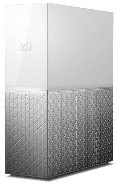 Datové uložiště (NAS) Western Digital My Cloud Home 4TB (WDBVXC0040HWT-EESN) stříbrné/bílé