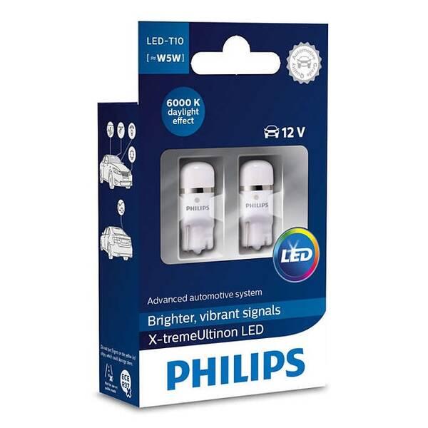 Autožiarovka Philips X-tremeUltinon LED T10 2 ks (127996000KX2)