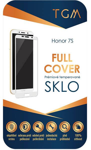 Tvrzené sklo TGM Full Cover na Honor 7S (TGMHON7SWH) bílé