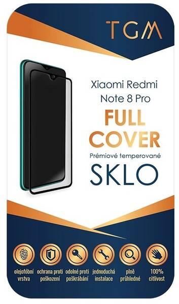 Ochranné sklo TGM Full Cover pro Xiaomi Redmi Note 8 Pro (TGMXIAREDNOT8P) černé