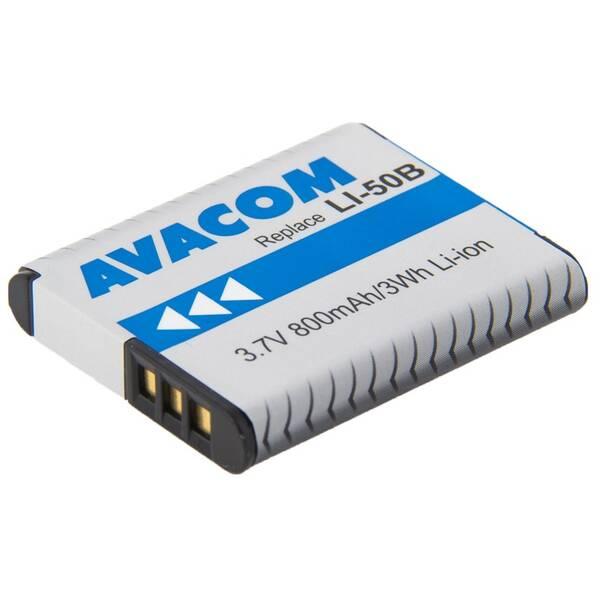 Baterie Avacom Olympus Li-Ion 3,7V 800mAh (DIOL-LI50-AVA)