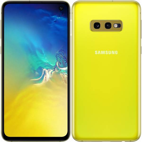 Mobilní telefon Samsung Galaxy S10e (SM-G970FZYDXEZ) žlutý
