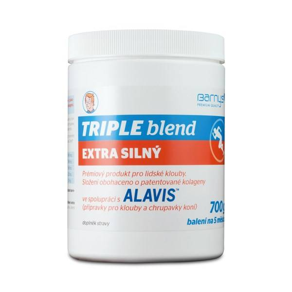 Prášok Barny´s Triple Blend extra silný - pre ľudské kĺby 700 g
