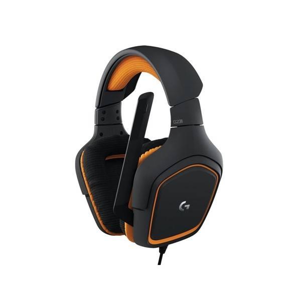 Headset Logitech Gaming G231 Prodigy (981-000627) černý/oranžový (vrácené zboží 8800258503)