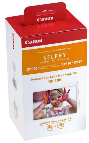 Fotopapír Canon RP-108,10x15 cm, 108 listů pro Selphy (8568B001AA)