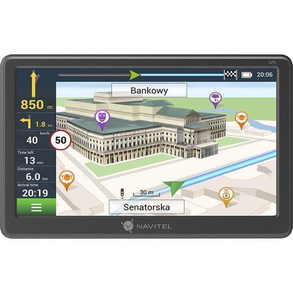 Navigační systém GPS Navitel E707 Magnetic šedá