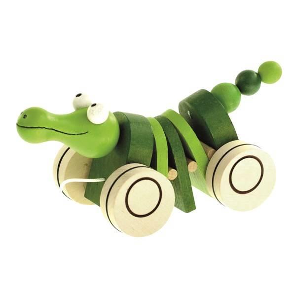 Tahací krokodýl Bino