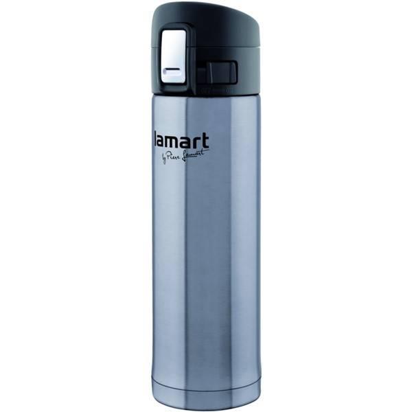 Termoska Lamart Branche 0,42 l (LT4008) černá/stříbrná