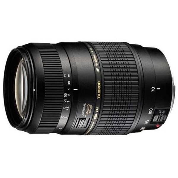 Objektív Tamron AF 70-300 mm f/4.0 5.6 Di LD Macro 1:2 pro Nikon (A17NII) čierny