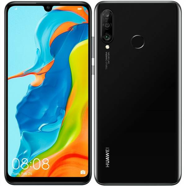 Mobilní telefon Huawei P30 lite 128 GB (SP-P30LDSBOM) černý