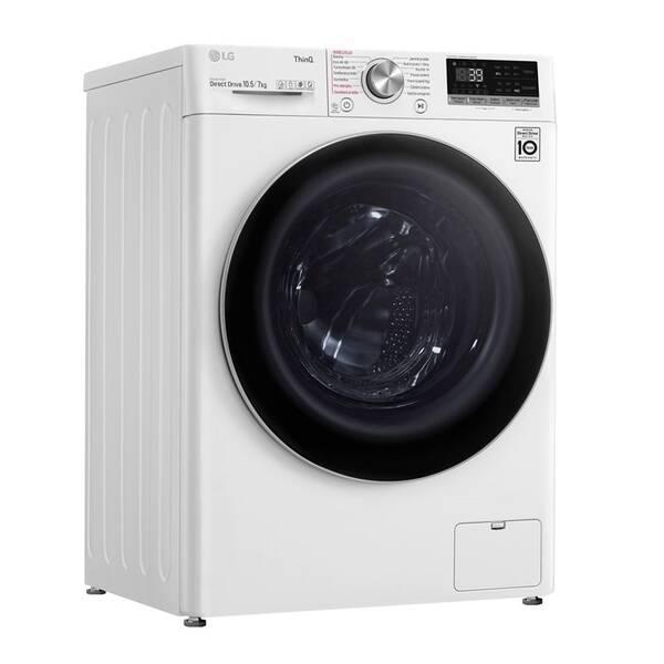 Práčka so sušičkou LG F4DV710H1E biela