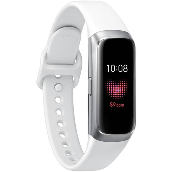 Fitness náramek Samsung Galaxy Fit (SM-R370NZSAXEZ) stříbrná