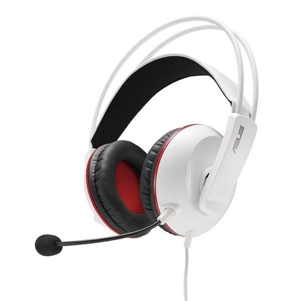 Headset Asus Cerberus Gaming (90YH0062-B1UA00) bílý