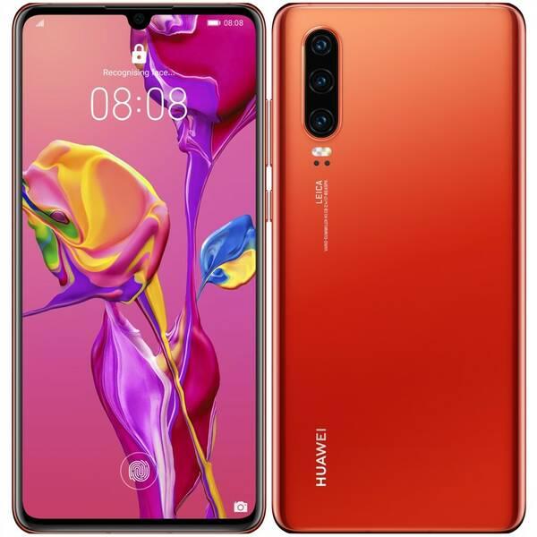 Mobilní telefon Huawei P30 - Amber Sunrise (SP-P30DSOOM)