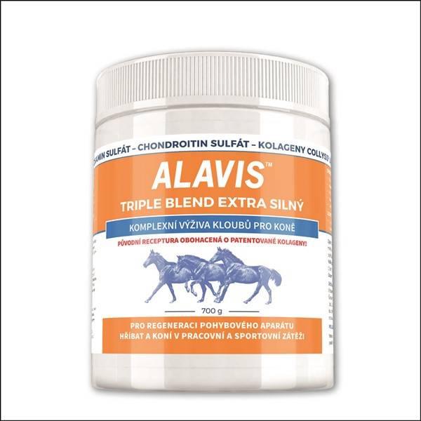 Prášok Alavis Triple Blend Extra silný pro koně 700g