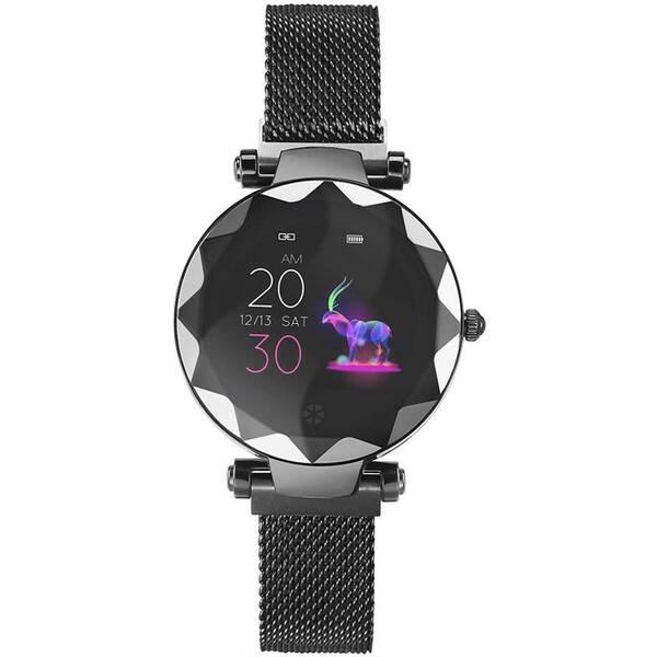 Chytré hodinky IMMAX SW12 (09023) černé