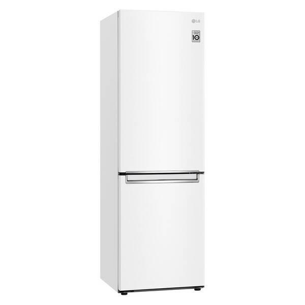 Kombinácia chladničky s mrazničkou LG GBB61SWGCN biela